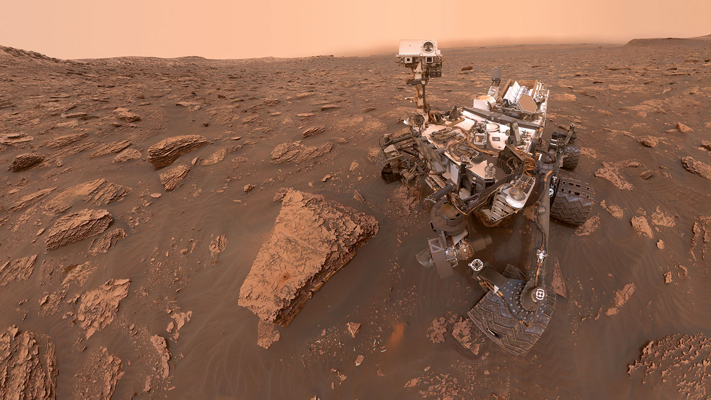 Curiosity Rover Operating Normally After Sudden Boot-Up Issue